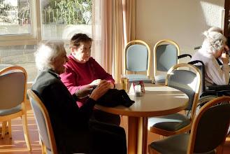 Photo: In der schönen Cafeteria
