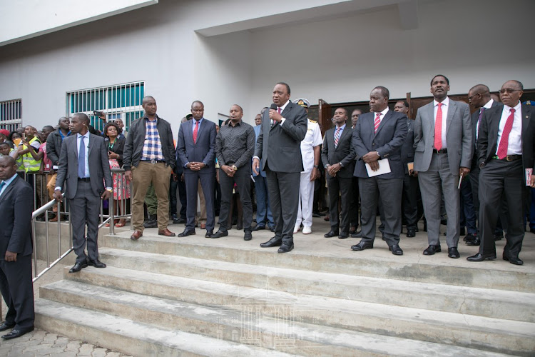 Image result for The Government will vet and register all import and export cargo consolidators to root out tax evaders, President Uhuru Kenyatta has said.