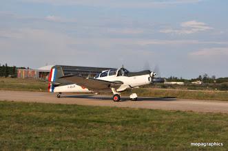 """Photo: également affecté à l'aéronavale, le Morane Saulnier MS 733 """"Alcyon"""". Moteur Potez 6D, 6 cylindres en ligne de 240 cv."""