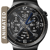 Mechani-Gears HD Watch Face Widget Live Wallpaper