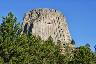 Photo: I found Devils Tower to be a magnet for my camera.