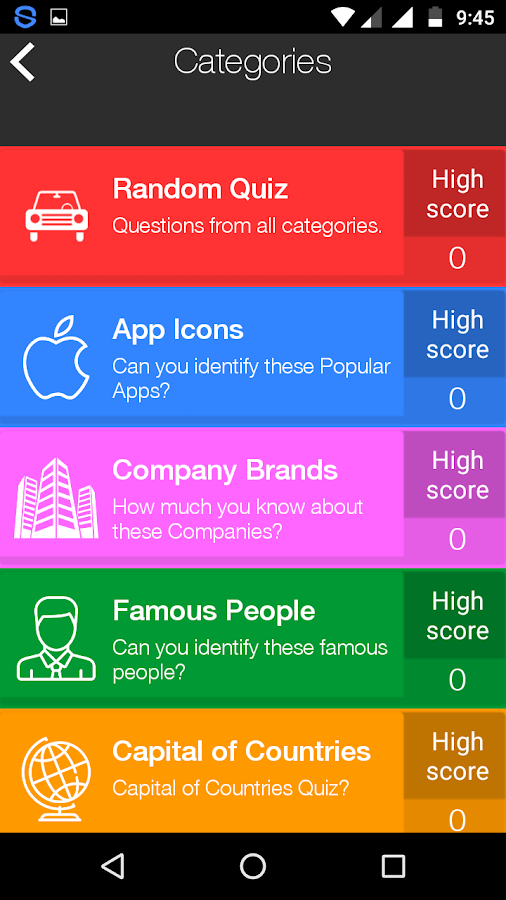 Fun Quizzes- screenshot