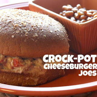 Crock-Pot Cheeseburger Joes