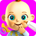 Talking Babsy Baby: Baby Games icon