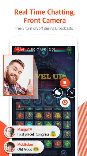 Mobizen Live Stream for YouTube - live streaming 1.2.11.3 Screenshots 2