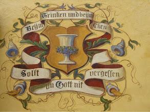 Photo: Wall Decoration, Hohenschwangau Castle, Bavaria