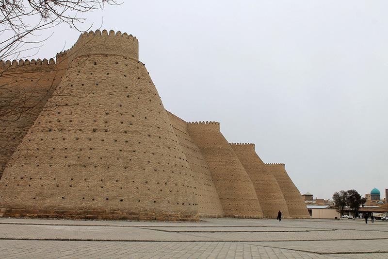 Крепость Арк в Бухаре