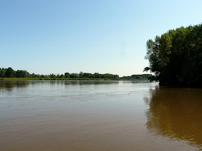 Photo: rare de voir la loire sans banc de sable