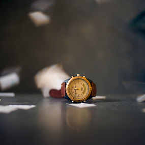 Time by Sudheer Hegde - Products & Objects Technology Objects ( strap, time, color, paper, watch, d800, 50mm, sudheer, gray, nikon )