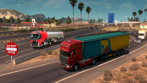 Truck Simulator 2020 : Heavy Cargo Truck Europe 3D 1.0 screenshots 4