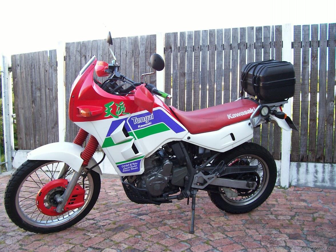 Kawasaki KL 650 Tengai -manual-taller-despiece-mecanica
