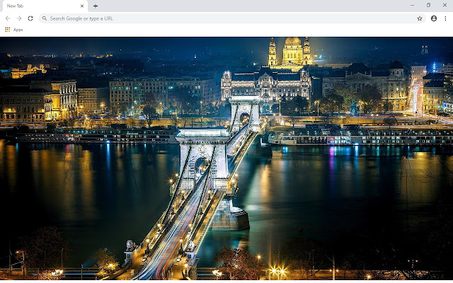 Budapest New Tab & Wallpapers Collection