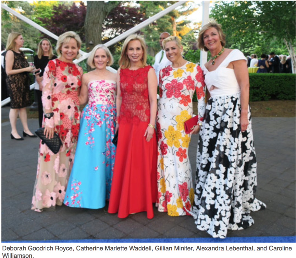 Karen Klopp and Hilary Dick article for New York Social Diary, New York Botanical Garden, Conservatory Ball, Georgia O'Keefe. Deborah Royce, Catherine Waddell, Gillian Miniter, Alexndra Lebenthal, Caroline Williamson