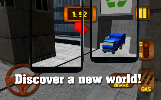 Garbage Truck Rally 3D
