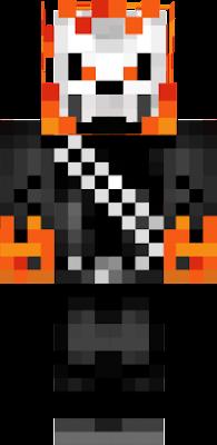 Motoqueiro Nova Skin - Skins para minecraft pe fantasma