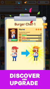 Idle Burger Factory 1
