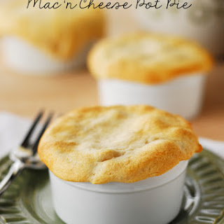 Macaroni and Cheese Pot Pie.
