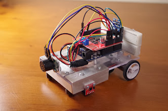 Photo: Final robot
