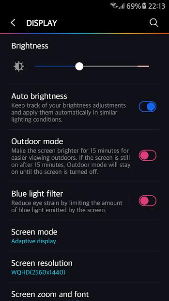 Aurora theme for Samsung Galaxy Note 8 S8 S8+ S7