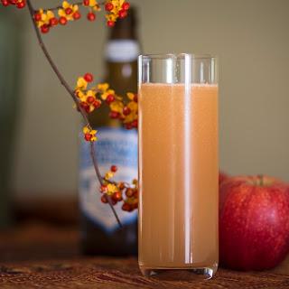 Hard Ginger Beer and Apple Cider Shandy Recipe