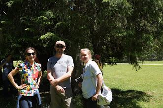 Photo: L'équipe de TF 1 - Das Reporter-Team von TF 1