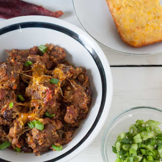 Chunky Venison Chili, Slow Cooker Version Recipe