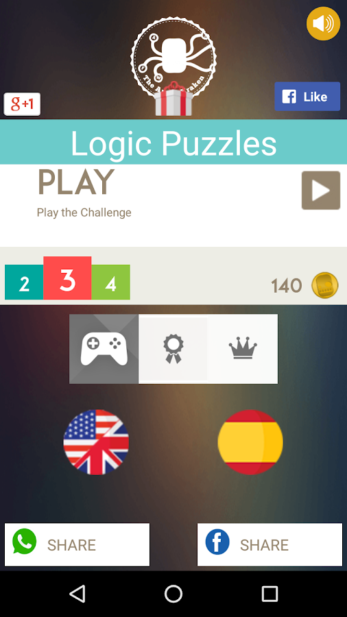 Logic Puzzles- screenshot