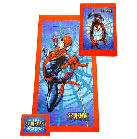 Spiderman - Handduks Set x 3