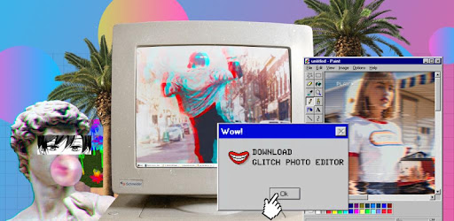Glitch Photo Editor -VHS, glitch effect, vaporwave - Apps on Google Play
