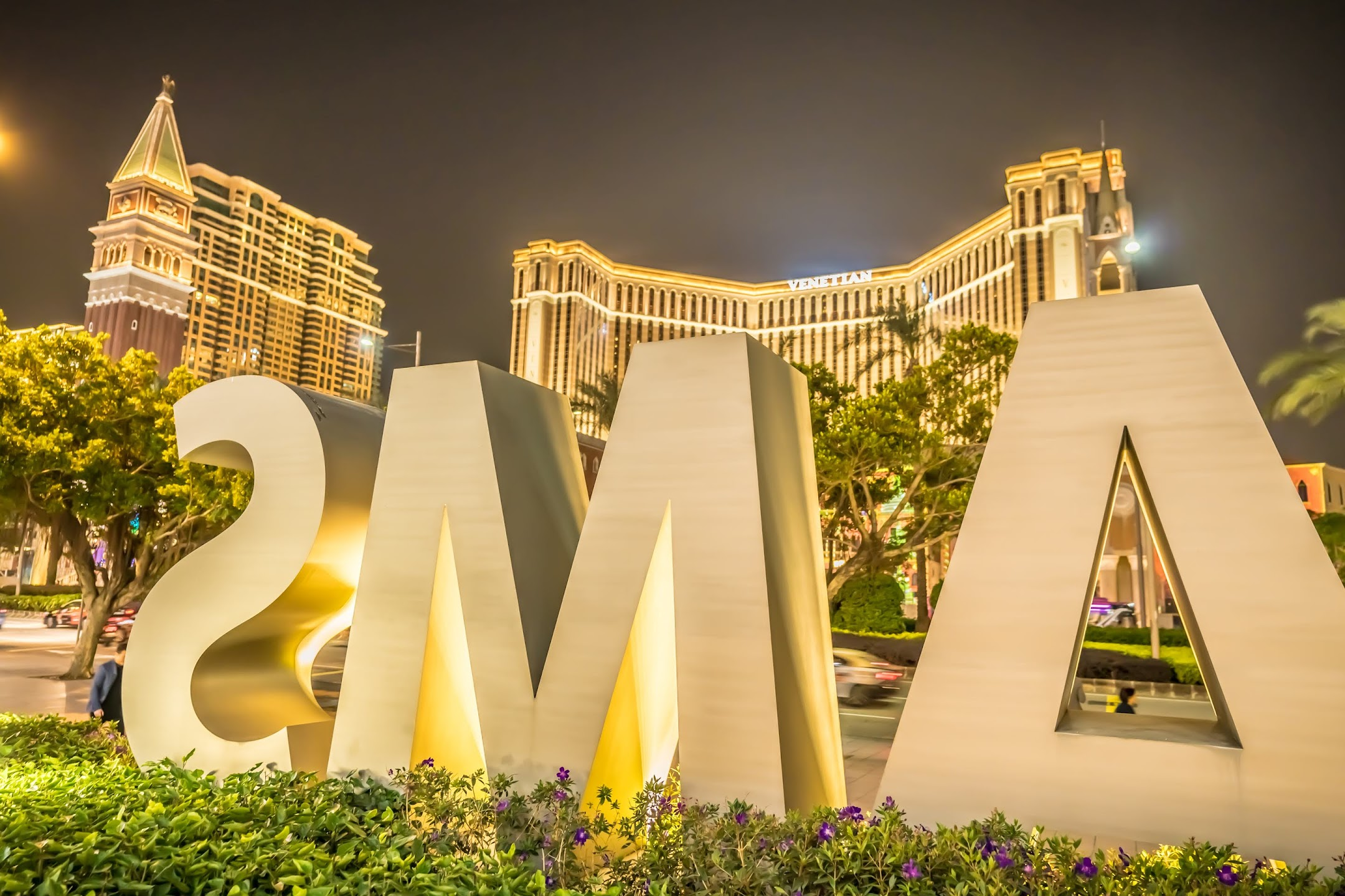 Macau City of Dreams night