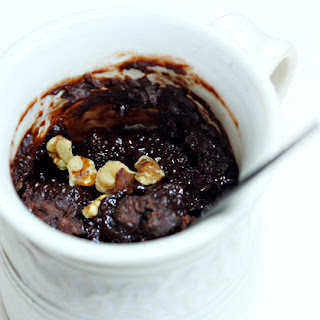 Chocolate Cake In A Mug (three Variations)
