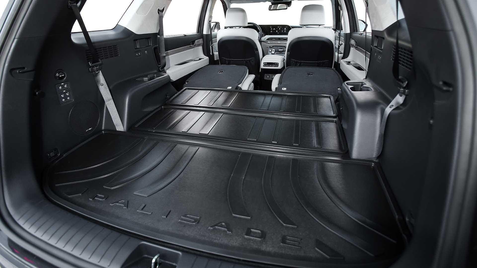 Hyundai Palisade, багажник