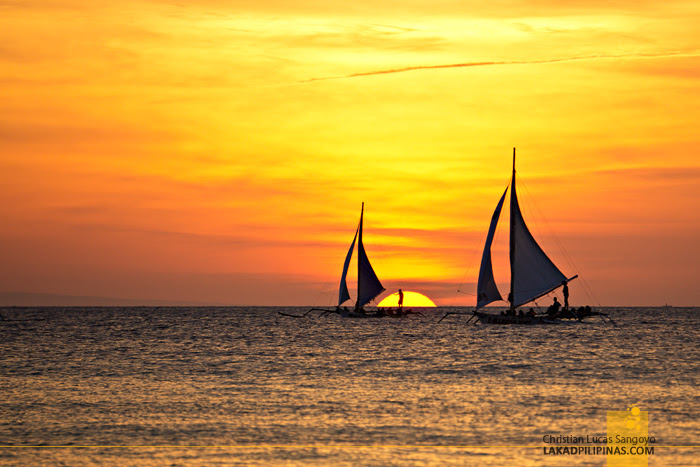 Crown Regency Beach Resort Boracay Sunset