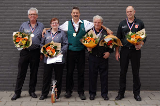 Photo: De vijf kampioenen