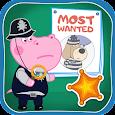 Kids Policeman games: Hippo Detective icon
