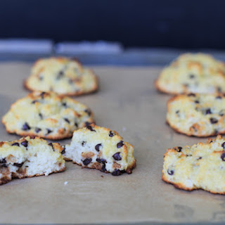 Chocolate Chip Scones {using coconut flour}
