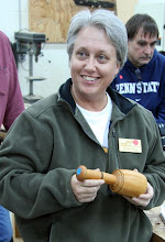 Photo: Linda Stops made a carving mallet from Argentinian osage orange.