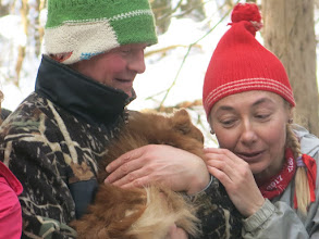 Photo: Рыжая собачка на привале