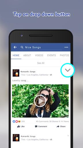 Video Downloader For Facebook -HD Video Downloader 1.0.3 screenshots 2