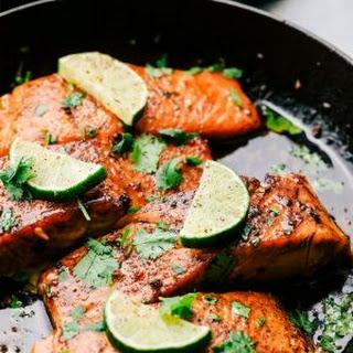 Cilantro Lime Butter Salmon Recipe