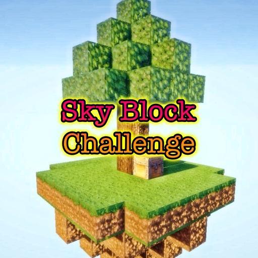 Sky Block challenge minecraft pe for PC