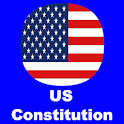 US Constitution and Quiz icon
