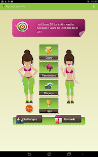 My Diet Coach - Pro Screenshot