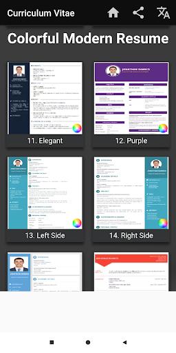 Download Curriculum Vitae App Cv Builder Free Resume Maker On Pc