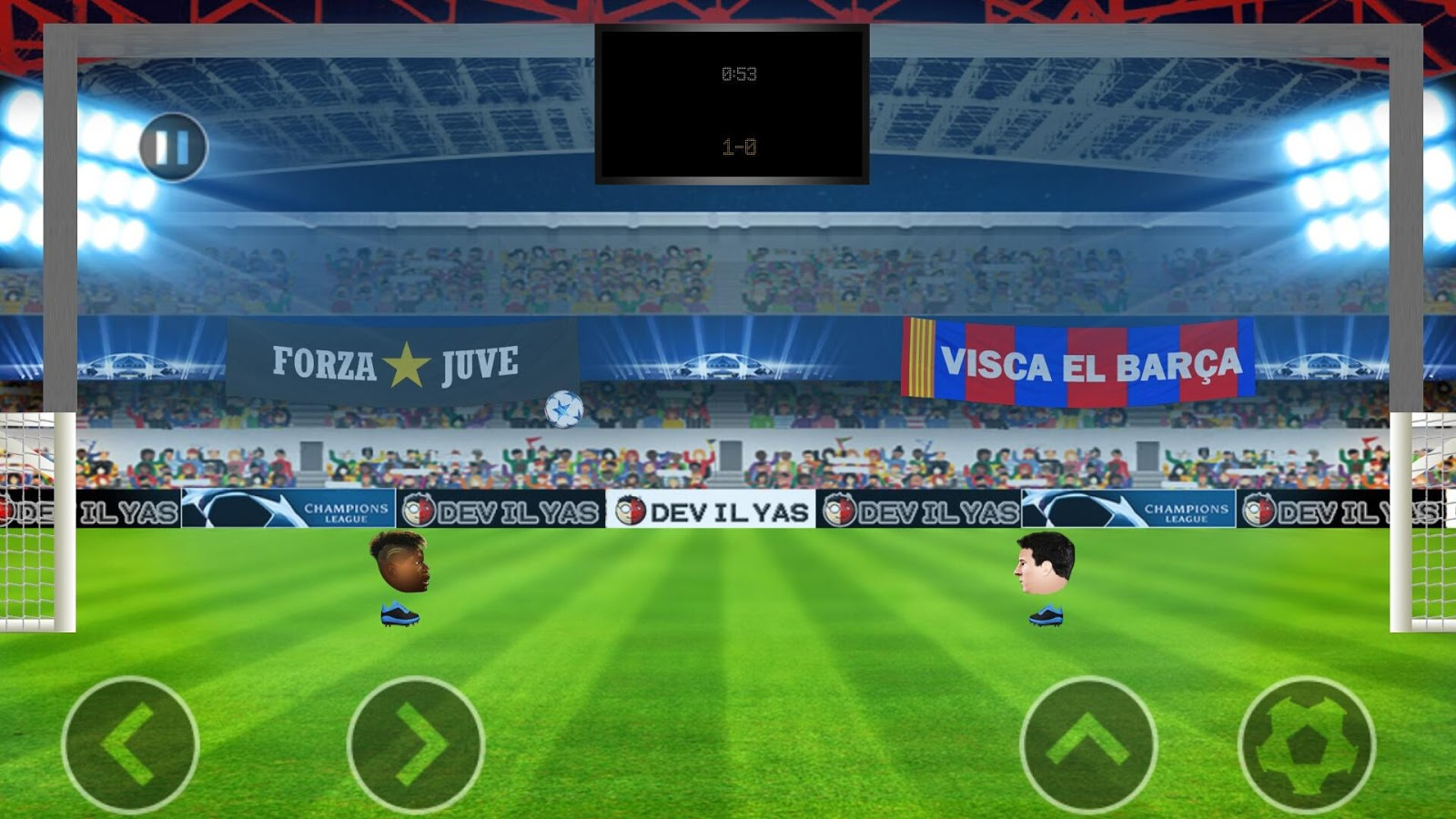 HFB - Champions League 2016- screenshot