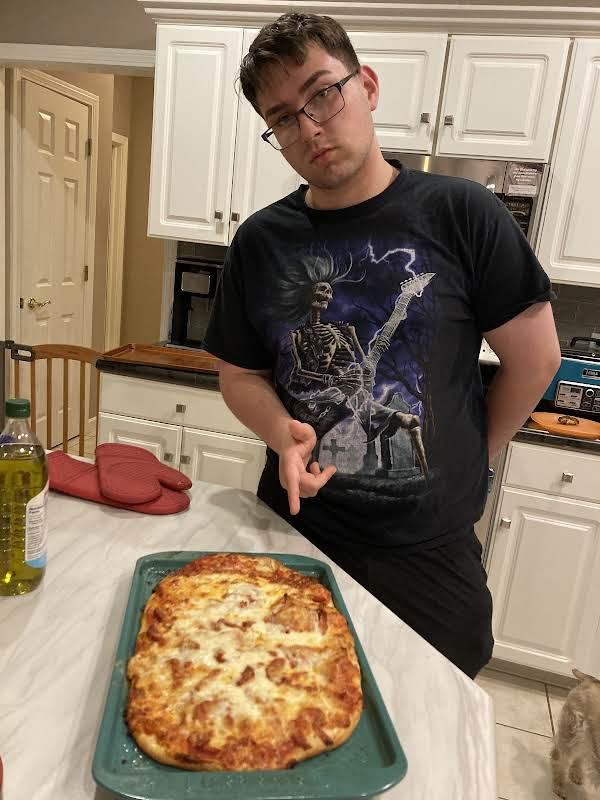 Brendan's Meatza Pizza