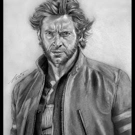 Wolvie by Franky Go - Drawing All Drawing ( wolverine, logan, heroes, hero, marvel, x-men, mutant, hugh jackman, superhero )