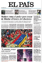 Photo: Maduro toma el poder para tratar de blindar el futuro del chavismo, la gestión del 'caso Bárcenas' agudiza la división del PP y la guerra civil en Siria genera un millón de refugiados, en la portada de este jueves. http://srv00.epimg.net/pdf/elpais/1aPagina/2013/03/ep-20130307.pdf