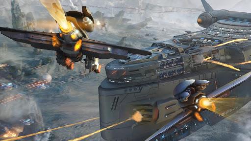 Ark of War: Galaxy Pirate Fleet  captures d'u00e9cran 9