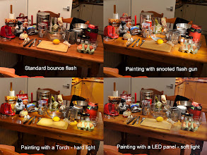 Photo: All the ingredients of a Christmas cake Just having a bit of quick fun before work started. The standard image has been enhanced to try and match it to the painted ones. Probably best to zoom in a bit to see the detail of individual elements